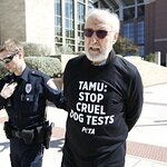 James Cromwell Arrested Protesting University Dog Laboratory in Texas