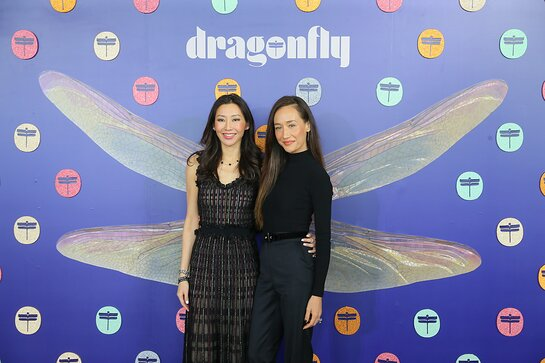 Maggie Q Attends Inaugural Dragonfly360 WO=MEN Summit