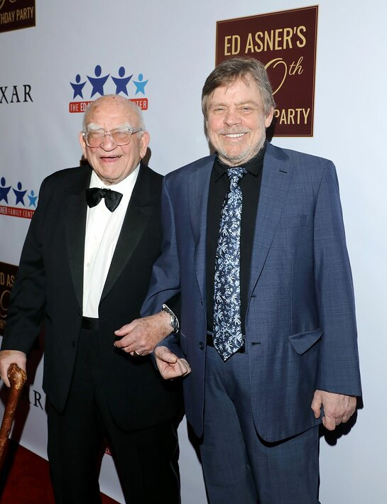 Ed Asner and Mark Hamill