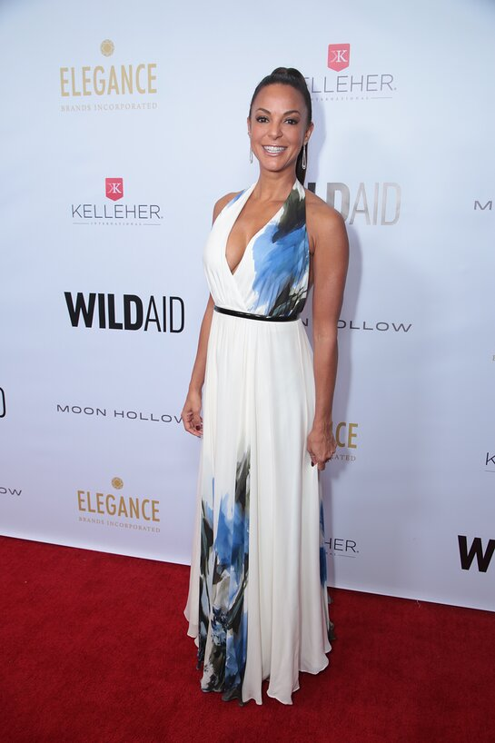 Eva Larue attends the WildAid Gala on November 9, 2019.