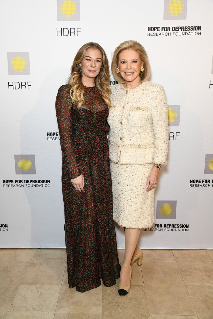 LeAnn Rimes and HDRF Founder & Chair Audrey Gruss
