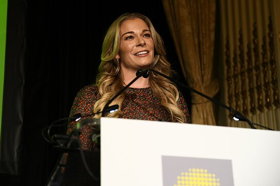 LeAnn Rimes speaks at the 13th Annual Hope for Depression Research Foundation Luncheon Seminar