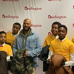Common Gives Back to Hometown with Burlington Coat Drive