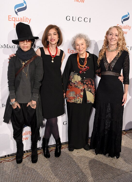 Linda Perry, Yasmeen Hassan, Margaret Atwood and Lara Stein attends the annual Make Equality Reality Gala hosted by Equality Now on November 19, 2019.