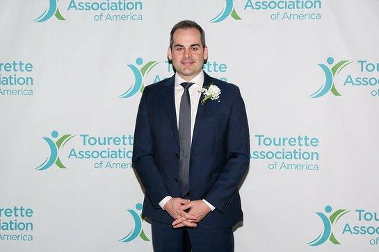 Tourette Association of America 2019 Gala honoree David Begnaud, at Capitale NYC.