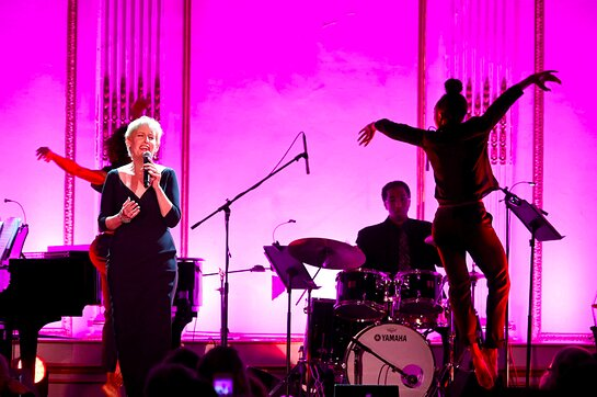 Liz Callaway performs onstage at the 2019 Princess Grace Awards