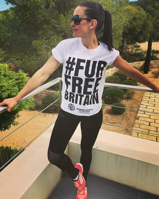 Kirsty Gallacher supports #FurFreeBritain