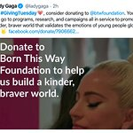 Celebrities Getting into the Spirit with #GivingTuesday