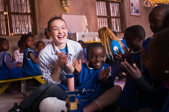 GIGI HADID TRAVELS WITH UNICEF USA TO SEE LIFESAVING PROGRAMS FOR CHILDREN IN SENEGAL