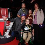Wish Kid Meets Blake Shelton