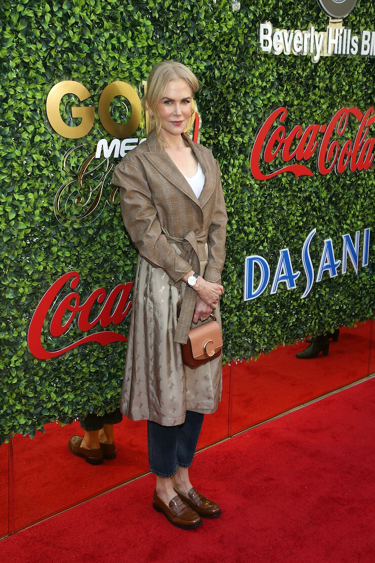 Nicole Kidman attends GOLD MEETS GOLDEN 2020, presented by Coca-Cola, BMW Beverly Hills And FASHWIRE