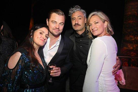 Shannon McIntosh, Leonardo DiCaprio, Taika Waititi