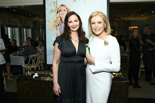 Ashley Judd Joins Audrey Gruss to Launch the New Hope Fragrance Collection