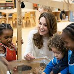 The Duchess of Cambridge Visits Stockwell Gardens Nursery and Pre-school