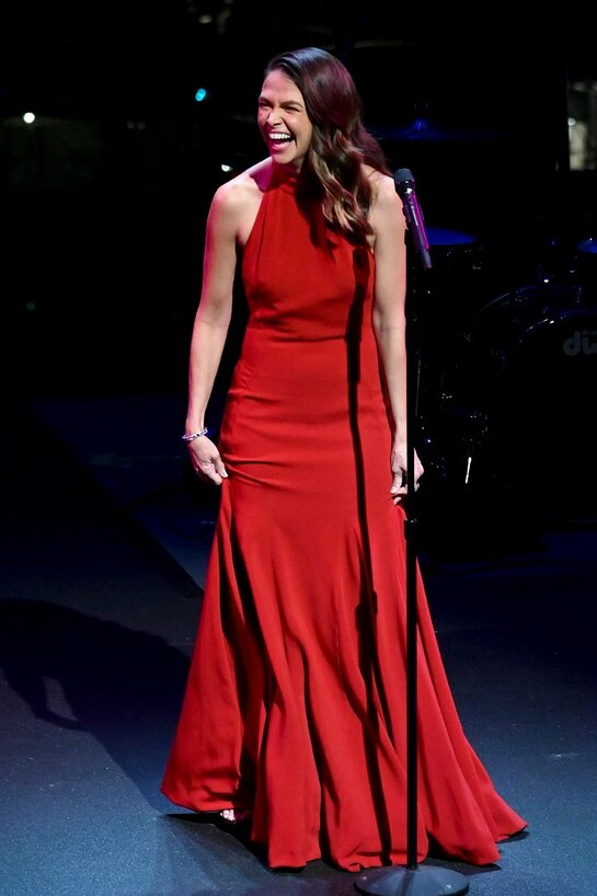 Sutton Foster At the 17th Annual Red Dress Awards.