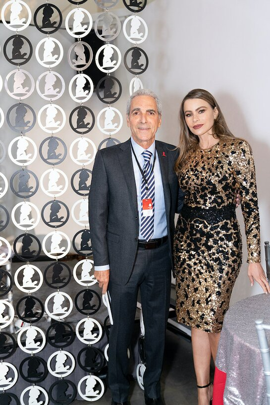Sofia Vergara hosted a private reception for St. Jude Children's Research Hospital