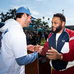 Stars Break Ground on Multi-Million-Dollar LADF Dodgers Dreamfields Project