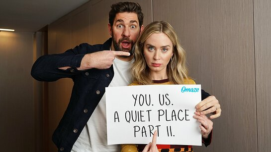 Double Date with John Krasinski and Emily Blunt