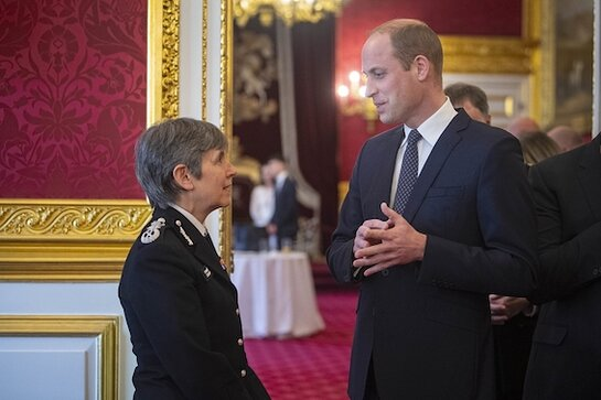 Duke of Cambridge marks the 150th anniversary of the Metropolitan and City Police Orphans Fund