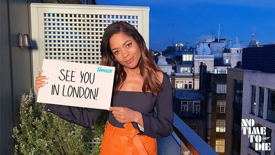 Go to the NO TIME TO DIE Premiere and Meet Naomie Harris