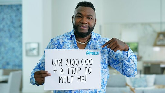 Go to a Game with David Ortiz in Boston and Win $100,000
