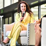 Andie MacDowell Honored at Women Making History Awards