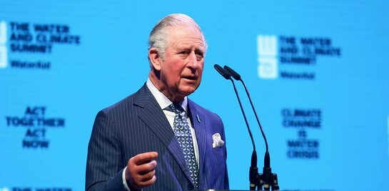 The Prince of Wales speaks at WaterAid's Water and Climate Summit