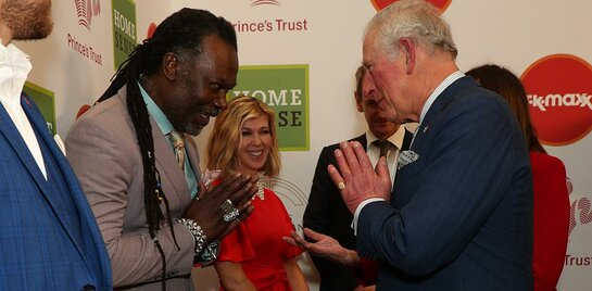 Prince Charles at The Prince's Trust Awards 2020