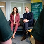 The Duke and Duchess of Cambridge visit the London Ambulance Centre in Croydon