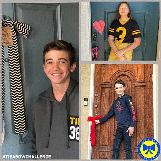 Parker Bates, Mackenzie Hancsicsak and Jason Maybaum Among Celebrities to Launch #TieABowChallenge