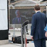Prince of Wales Virtually Opens The New NHS Nightingale Hospital