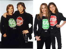 Alicia Silverstone and Son Pay Tribute to Paul McCartney in New PETA Ad