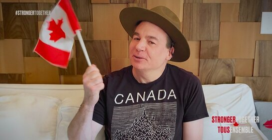 Mike Myers, STRONGER TOGETHER, TOUS ENSEMBLE