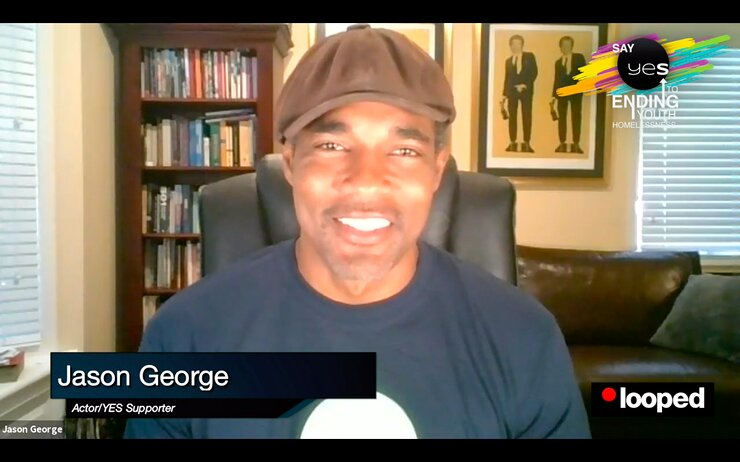 Jason George joined the YES AT HOME virtual gala.