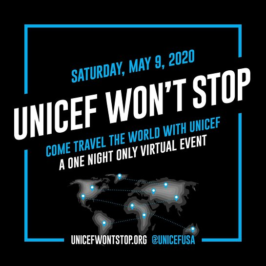 UNICEF Won't Stop Virtual Event