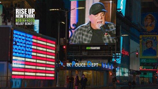 Billy Joel at Rise Up New York!