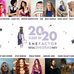 Stars Join SheFactor To Host First Virtual Graduation Party & Summit For 2020 Women Graduates