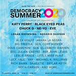 ROCK THE VOTE Democracy Summer Kick-Off Concert with Katy Perry, Black Eyed Peas and More