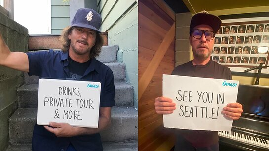 Hang Out with Eddie Vedder and Jeff Ament