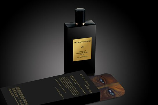 Anthony Hopkins, AH Eau de Parfum and Home Fragrance Candle and Diffuser Collection