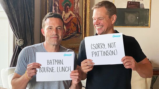 Get Lunch with Matt Damon and Ben Affleck in Los Angeles
