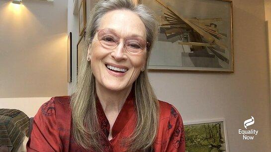 Meryl Streep at 2020 Make Equality Reality Virtual Gala