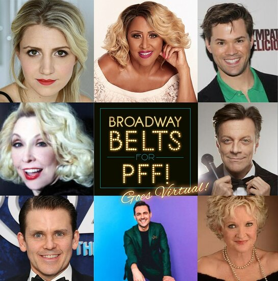 Broadway stars on a mission to raise awareness for pulmonary fibrosis