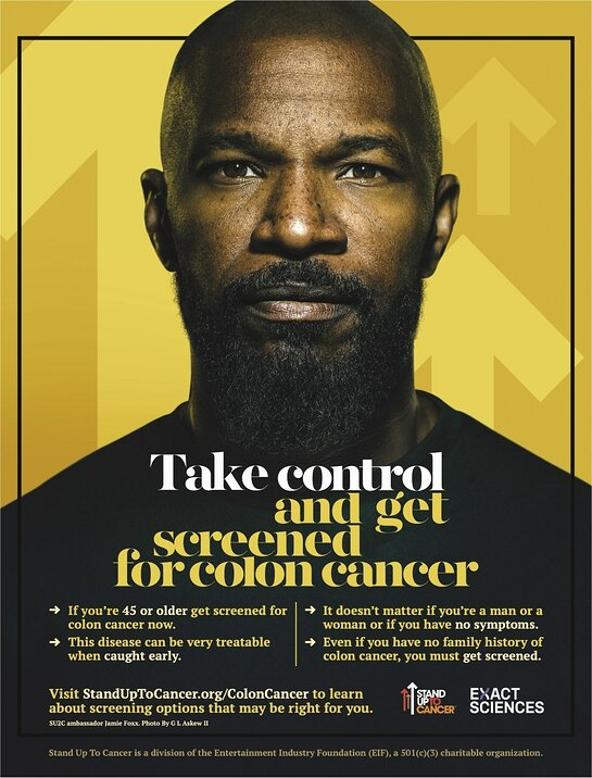 Jamie Foxx, Stand Up To Cancer