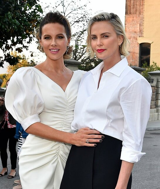 Kate Beckinsale and Charlize Theron
