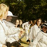 """The First Group of Women Graduates from the Guerlain X UNESCO """"Women for Bees"""" Program Joined by Angelina Jolie"""