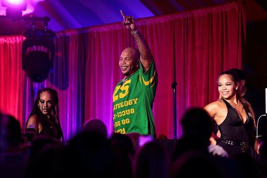 Flo Rida Performs at Angel Ball Summer Gala