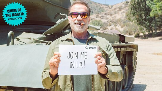 Have the Best Weekend with Arnold Schwarzenegger