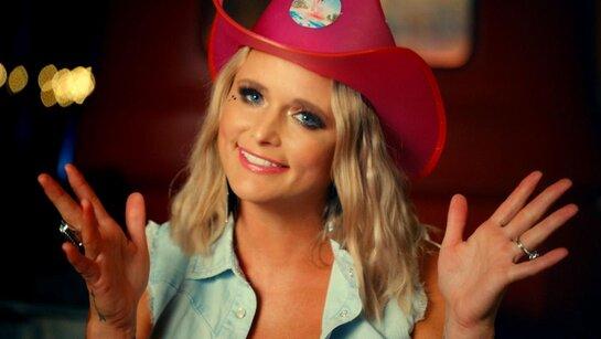 Miranda Lambert wearing her Neon Cowboys Light Up Hat