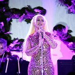 Christina Aguilera Performs at YES 20th Anniversary Celebration